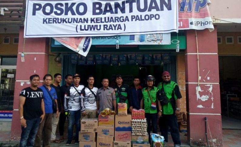 Komunitas Supermoto Indonesia (SMI) Jayapura Beri Bantuan ke Korban Kerusuhan Wamena