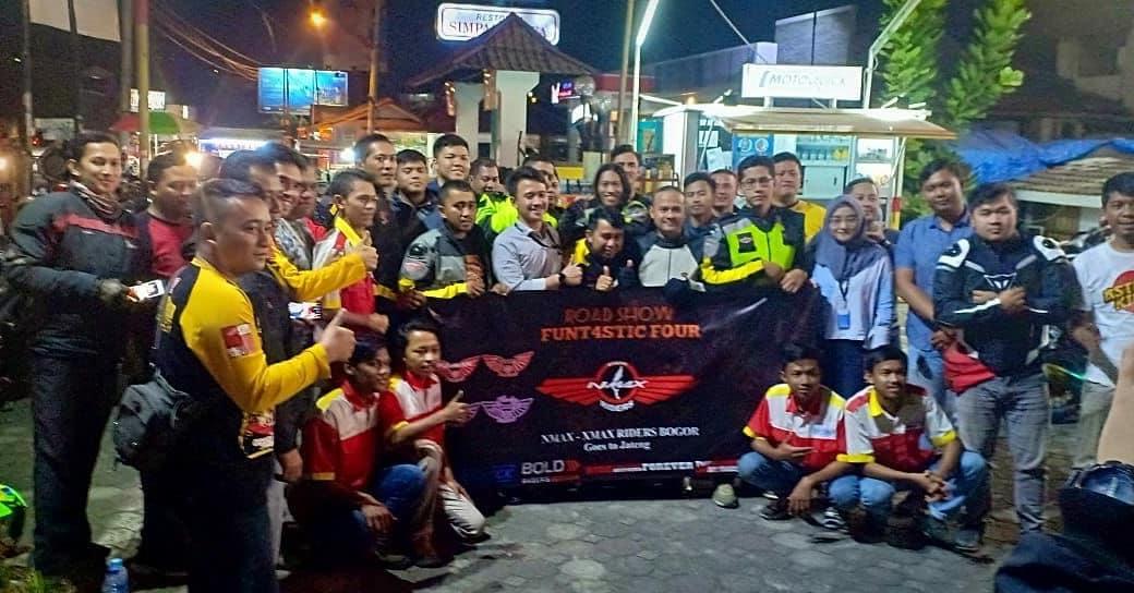 Jelang HUT ke-4 NMax Riders Bogor, Siapkan Banyak Konten Menarik