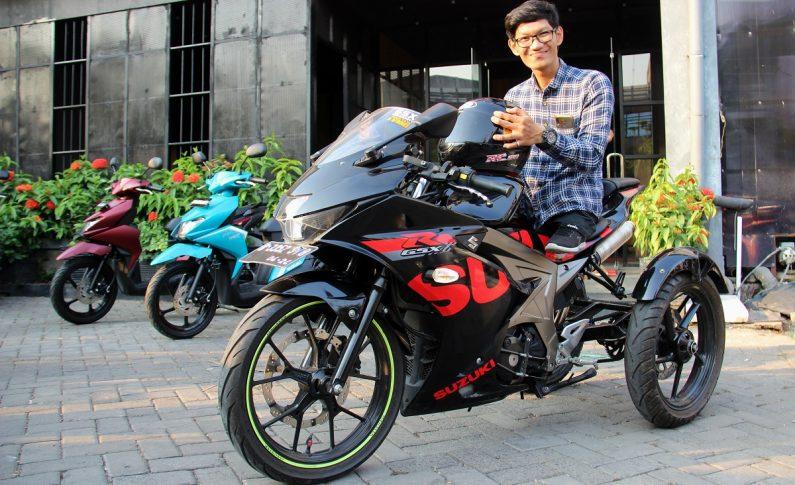 Cerita Estu Budiman, Biker Difabel Yang Geber Motor Sport