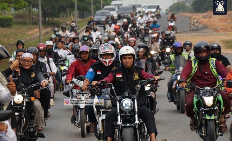 Ustadz Abdul Somad Saat Jadi Bikers