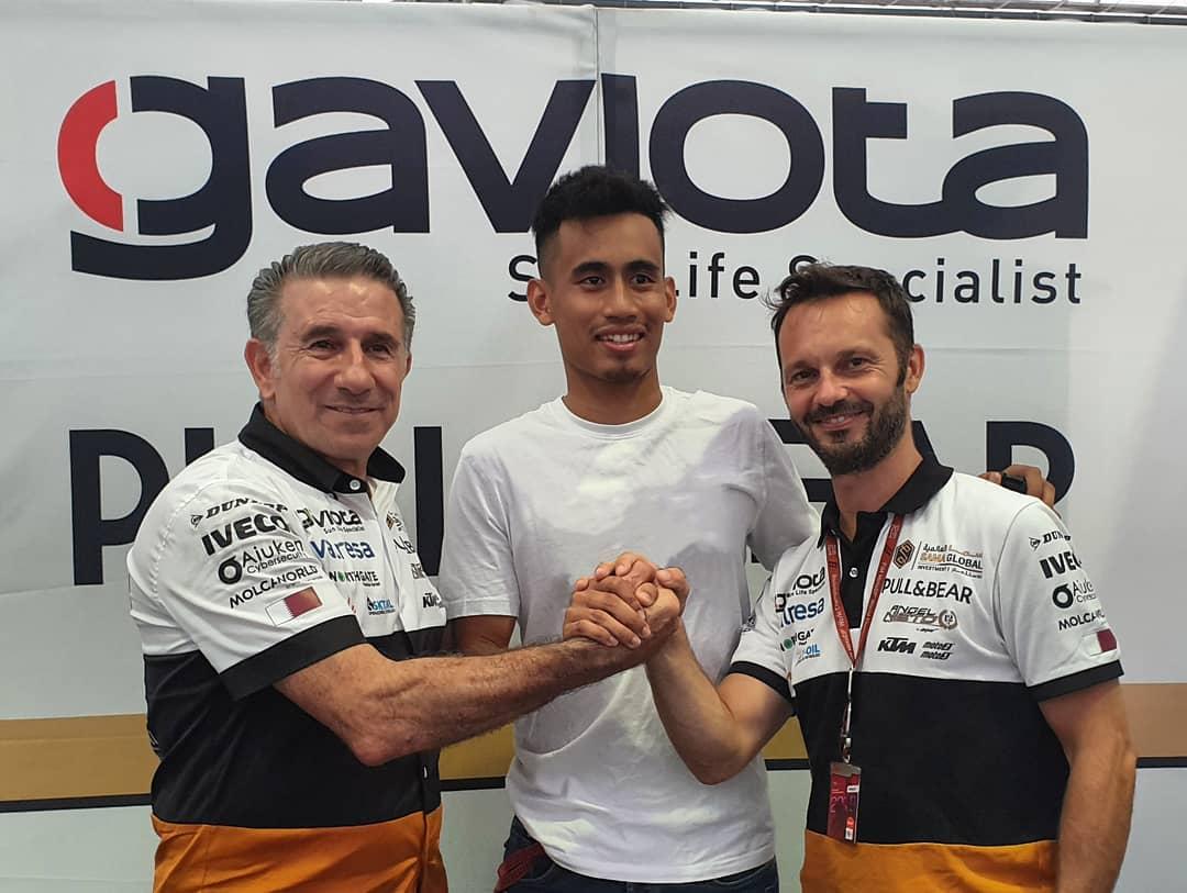 Tak Perpanjang Kontrak di MotoGP, Hafizh Syahrin Hengkang ke Moto2 Bareng Angel Nieto Team