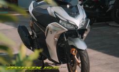 Hadirkan Warna Prestige Silver, Line Up Skutik Yamaha Makin Keren