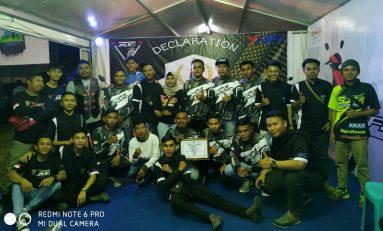 Komunitas X-Riders Yamaha Indonesia (XYI) Limboto Resmi Deklarasi