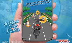 Suzuki Ajak Bikers Main Game Kejar Daku di Media Sosial