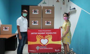 Yayasan AHM Ringankan Beban Penyandang Disabilitas