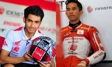 Andi Gilang dan Gerry Salim Wakili Indonesia di Kejuaraan Dunia Moto2