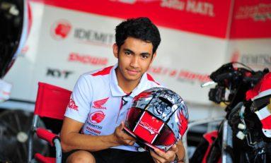Andi Gilang Asapi Gerry Salim di CEV Moto2 Jerez