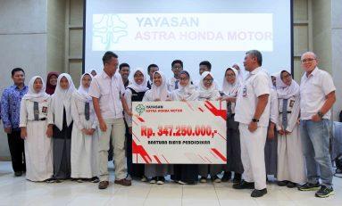 14 Ribu Pelajar Sambangi Pabrik Astra Honda Motor di Hari Sumpah Pemuda
