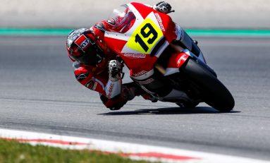 Gerry Salim Ditempel Andi Gilang Balapan Moto2 Jerez