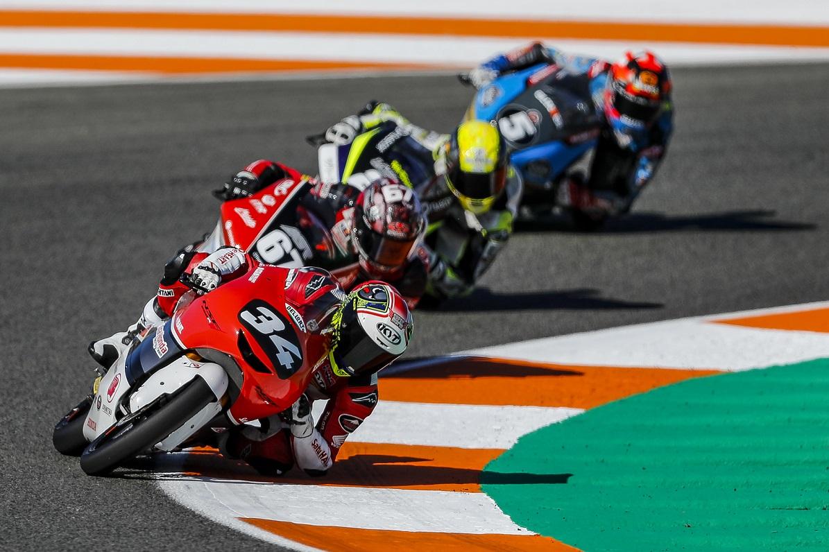 Akhiri Balapan CEV Moto3 2020, Mario Suryo Aji Catat Rekor Terbaik