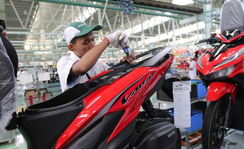 Ekspor Sepeda Motor Honda Melonjak di Tahun 2019, Menyebar ke 8 Negara