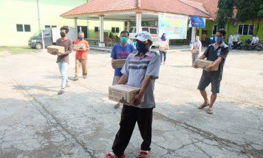 AHM Donasi Ribuan Paket Sembako Ramadhan