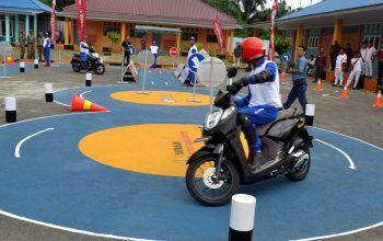Peduli Keselamatan, AHM Resmikan Safety Riding Lab di Sumatera Utara