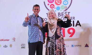 AHM Sabet 15 Penghargaan Contact Center Terbaik