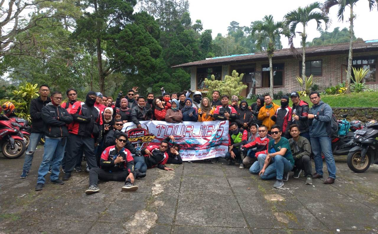 Aerox Riders Club Indonesia (ARCI) Bekasi Lantik Member Baru