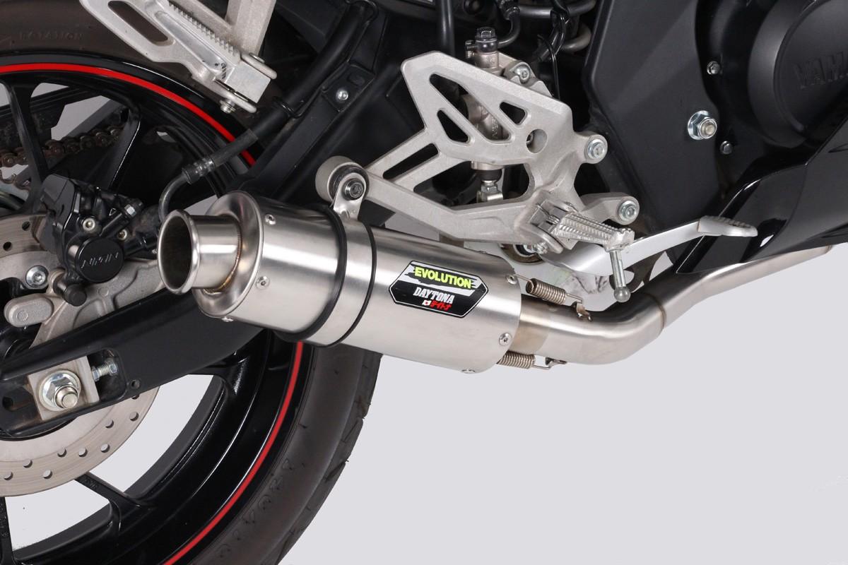 Knalpot Daytona Evolution Untuk Motor 150cc, Cocok Buat Harian dan Racing