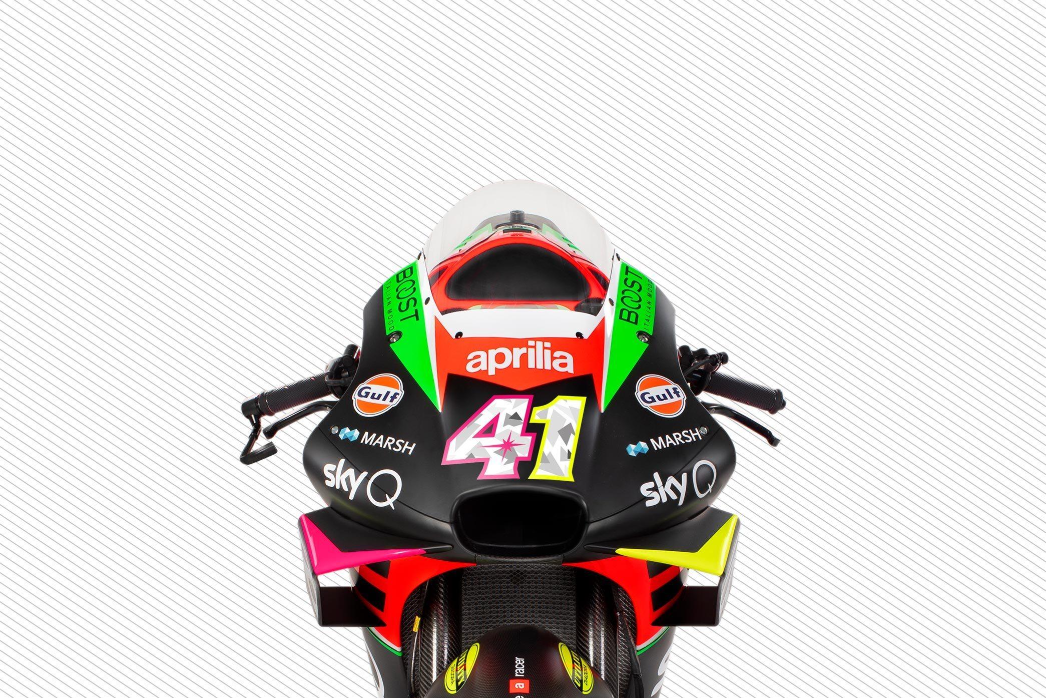 Aprilia Lakukan Ubahan Besar di RS-GP 2020, Tiru Honda dan Ducati