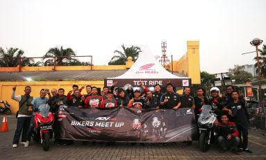 Gelar Bikers Meet Up, Wahana Ajak Komunitas Jajal ADV150