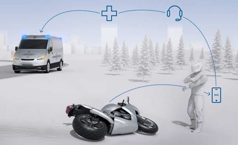Aplikasi Help Connect Bosch Bisa Temukan Lokasi Kecelakaan Bikers