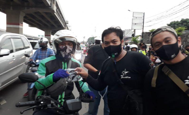 Bandit Community Indonesia (BCI) Bagikan Masker dan Takjil Bersama Suzuki