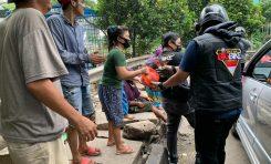 Turun ke Jalan, Big Bike Community (BBC) Bagikan Sembako