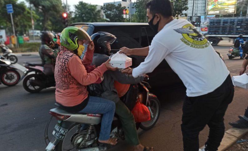 Gak Ada Touring Atau Kopdar, Komunitas Bikers Peduli Fokus di Kegiatan Sosial