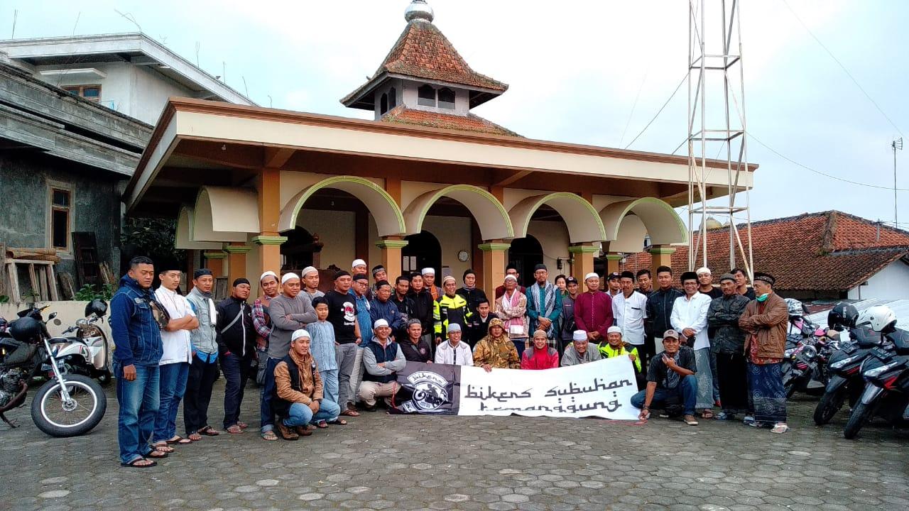 Bikers Subuhan Temanggung, Gerakkan Sholat Subuh Berjamaah di Masjid