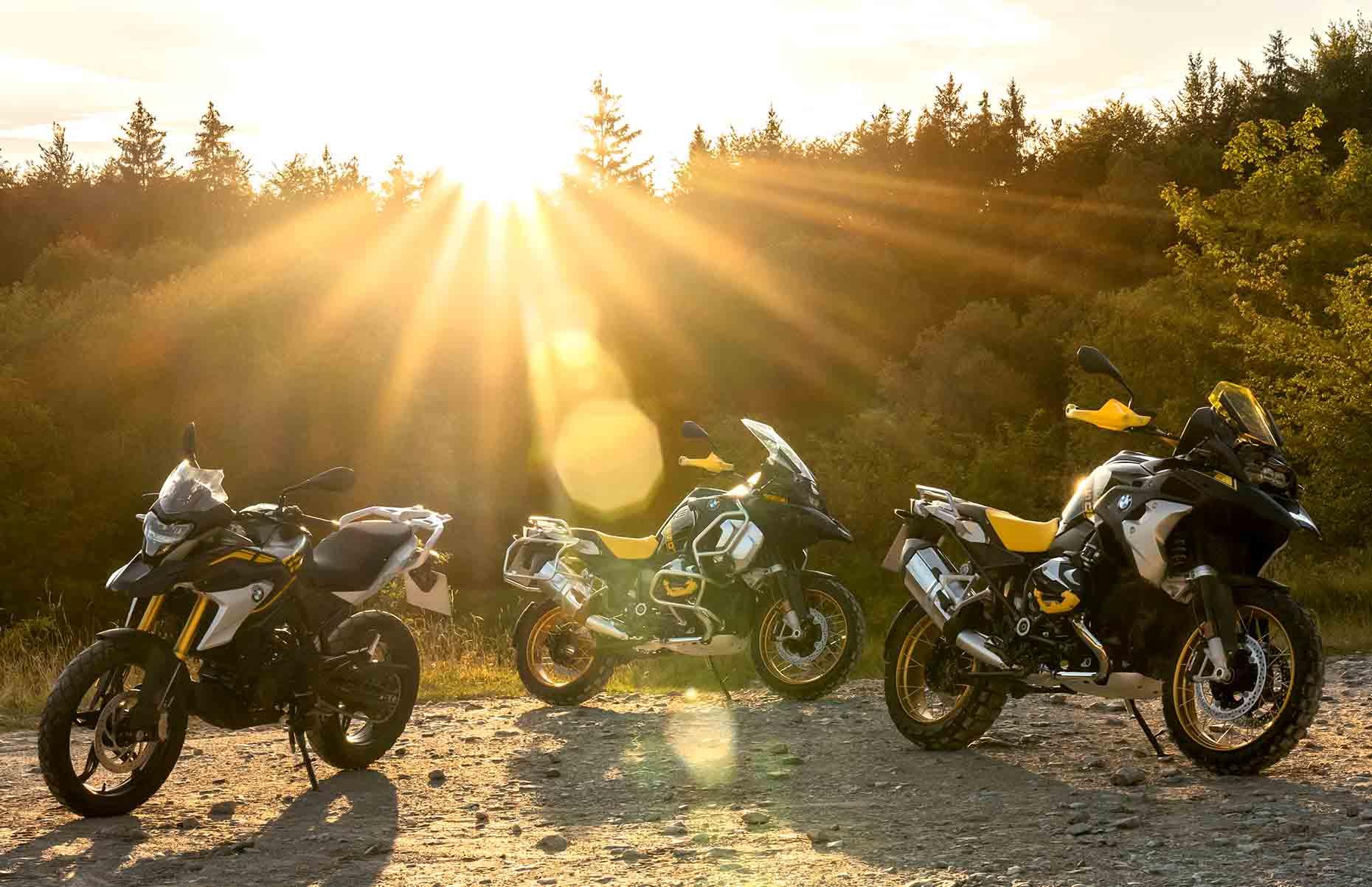 BMW Motorrad Luncurkan Edisi 40 Tahun BMW G 310 GS, R 1250 GS, dan R 1250 GS Adventure