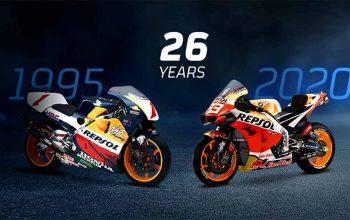 Seperempat Abad Kerja Sama Repsol dan Honda Rajai MotoGP