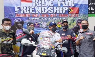 Andra dan Donay VOID Memulai Perjalanan 6.712 KM untuk Sahabat