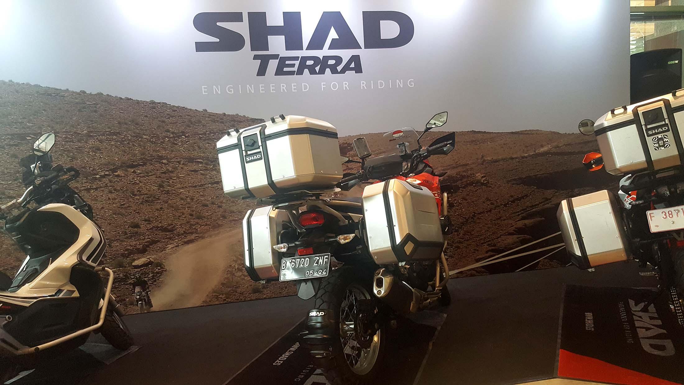 SHAD Luncurkan Alumunium Box Terra Untuk Bikers Indonesia