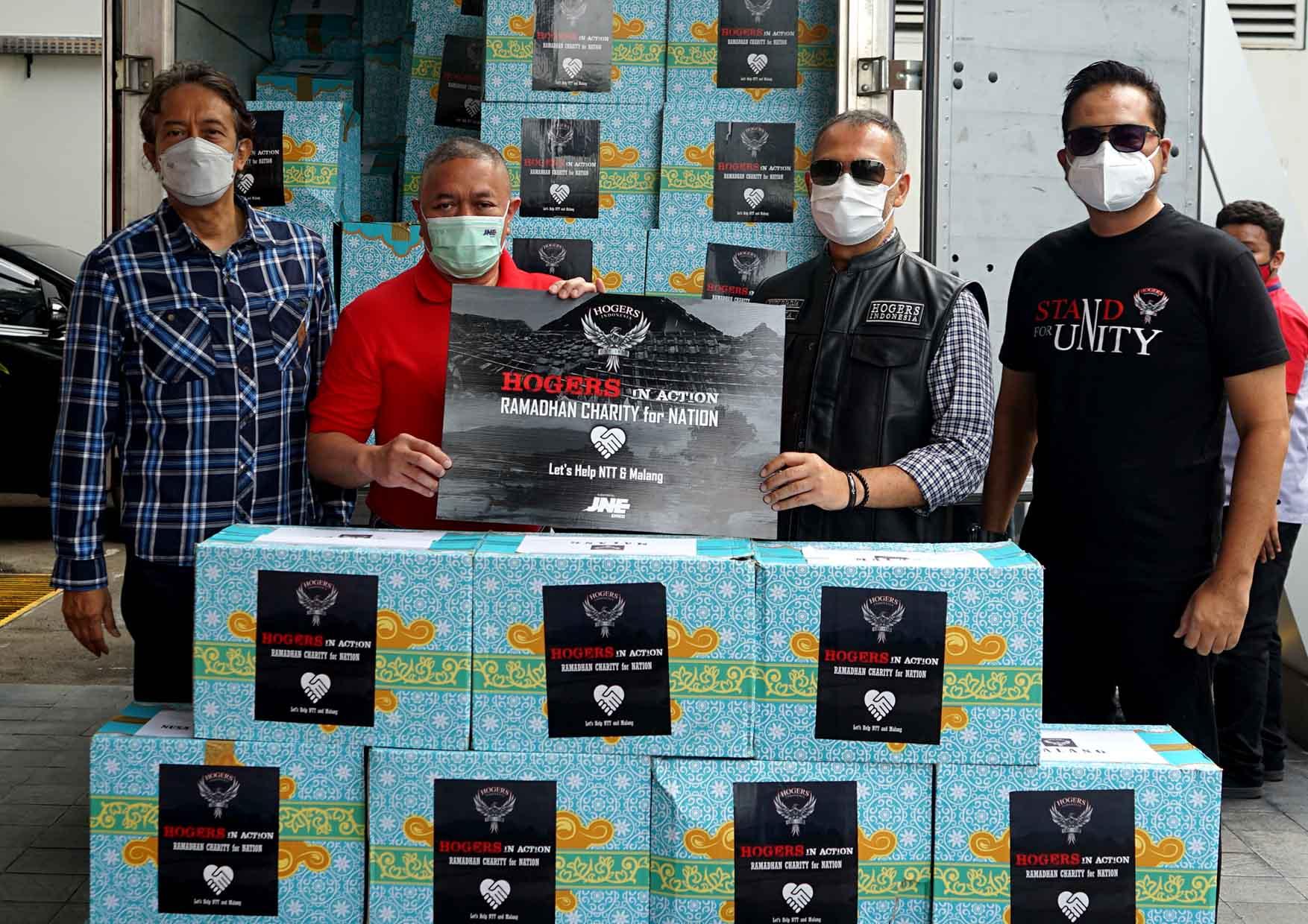 HOGERS Indonesia Kirim Bantuan ke Daerah Terdampak Bencana di NTT dan Malang