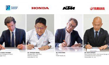 Piaggio, Honda, KTM dan Yamaha Sepakati Kerja Sama Baterai Motor Listrik
