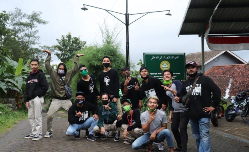 Komunitas Brown Bottle Supermoto Salurkan Bantuan ke Panti Asuhan dan Ponpes
