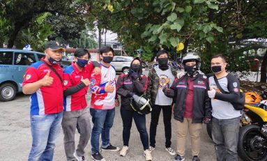 Baksos Komunitas CBR Riders Jakarta 'Tidak Harus Menunggu Lebih Untuk Berbagi'