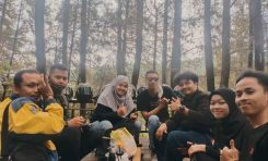 Touring Wisata CBR Riders Jakarta Demi Ngopi di Alam Terbuka