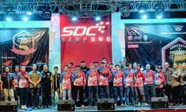 Seribuan Bikers Hadiri Perayaan HUT ke-5 CBR Tangerang Club (CBR TAC)