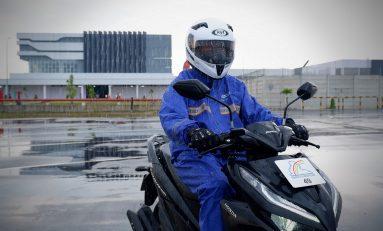 Waspada, Cermati Piranti Bikers di Musim Hujan