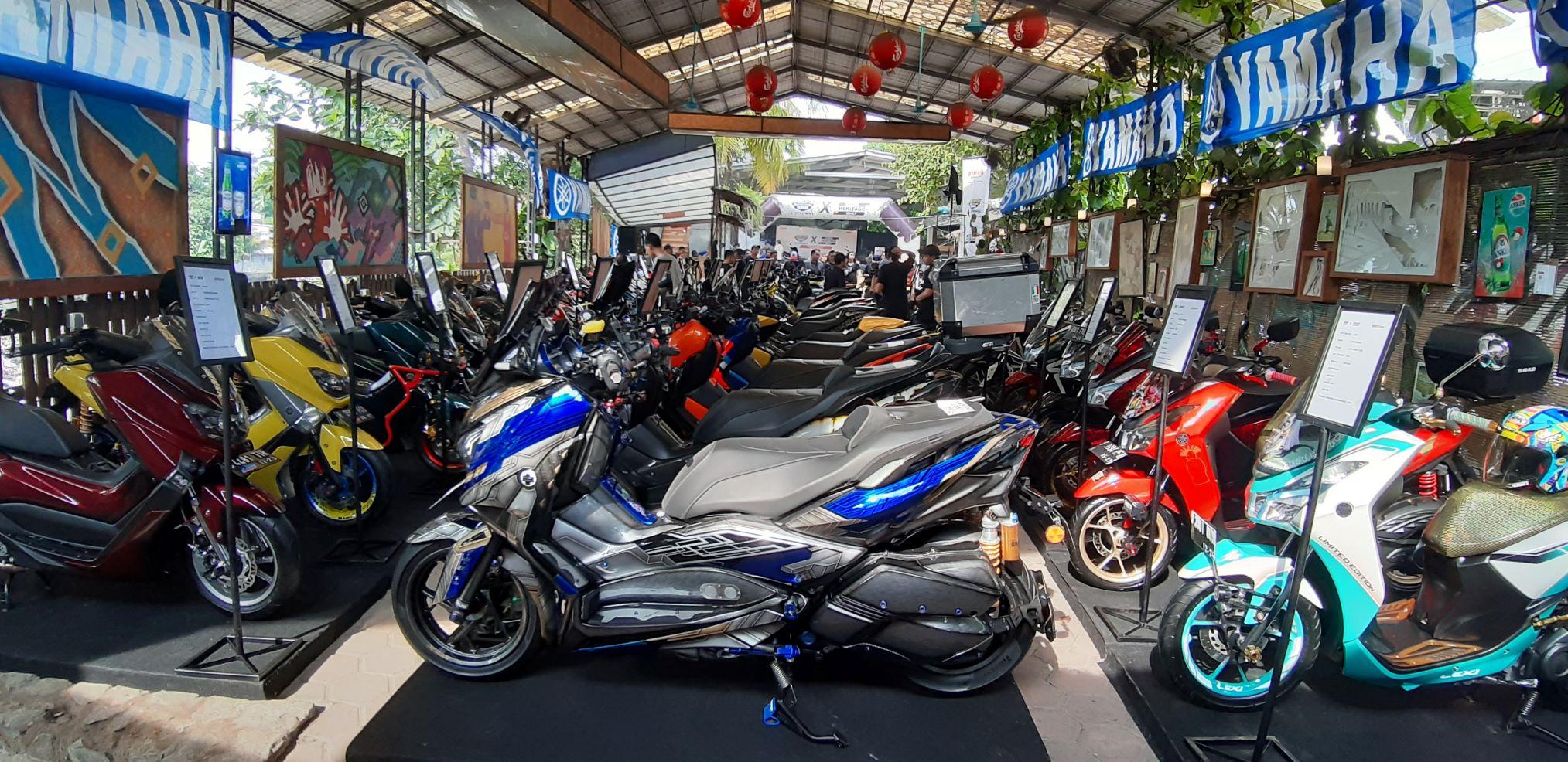 Customaxi Yamaha Tantang Modifikator Kota Medan