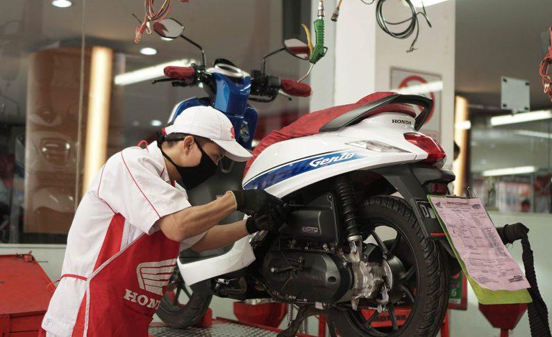Bengkel AHASS Bikin Servis Motor Makin Mudah