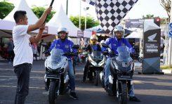 DAM Gelar ADV150 Urban Exploride di Kota Cirebon