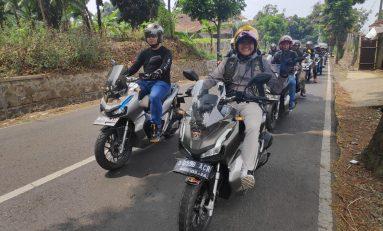 ADV150 Weekend Ride Diikuti Ratusan Bikers Ikatan Motor Honda Bandung (IMHB)