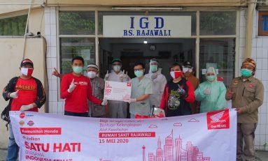 Kompak, Komunitas Motor Honda di Jawa Barat Gelar Baksos Bersama