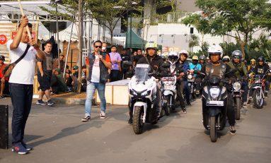 DAM Ajak Gathering Komunitas Honda di Genio Movie Ride