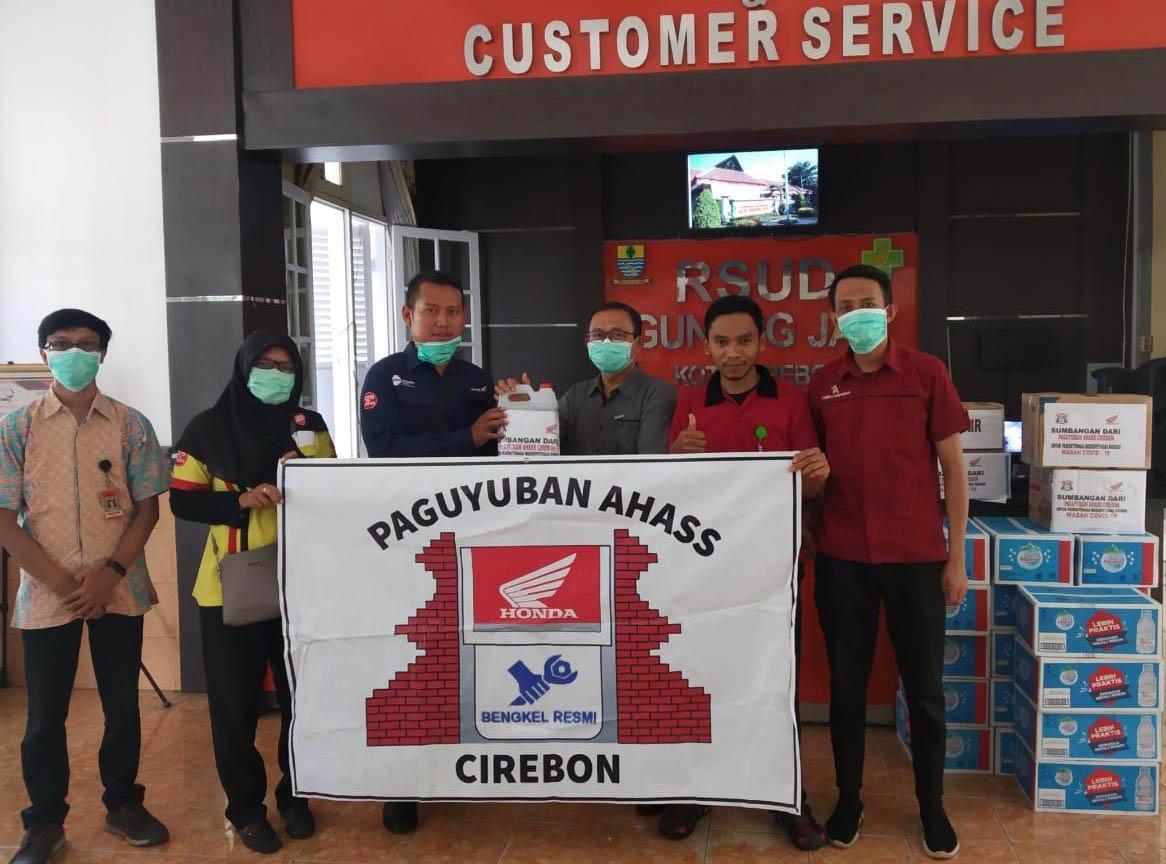 Paguyuban AHASS Jawa Barat Berikan Bantuan untuk Tenaga Medis