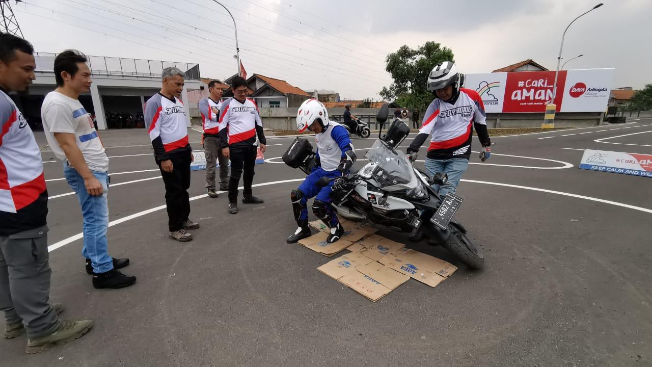 DAM Gelar Safety Riding Untuk Bikers Moge Jawa Barat