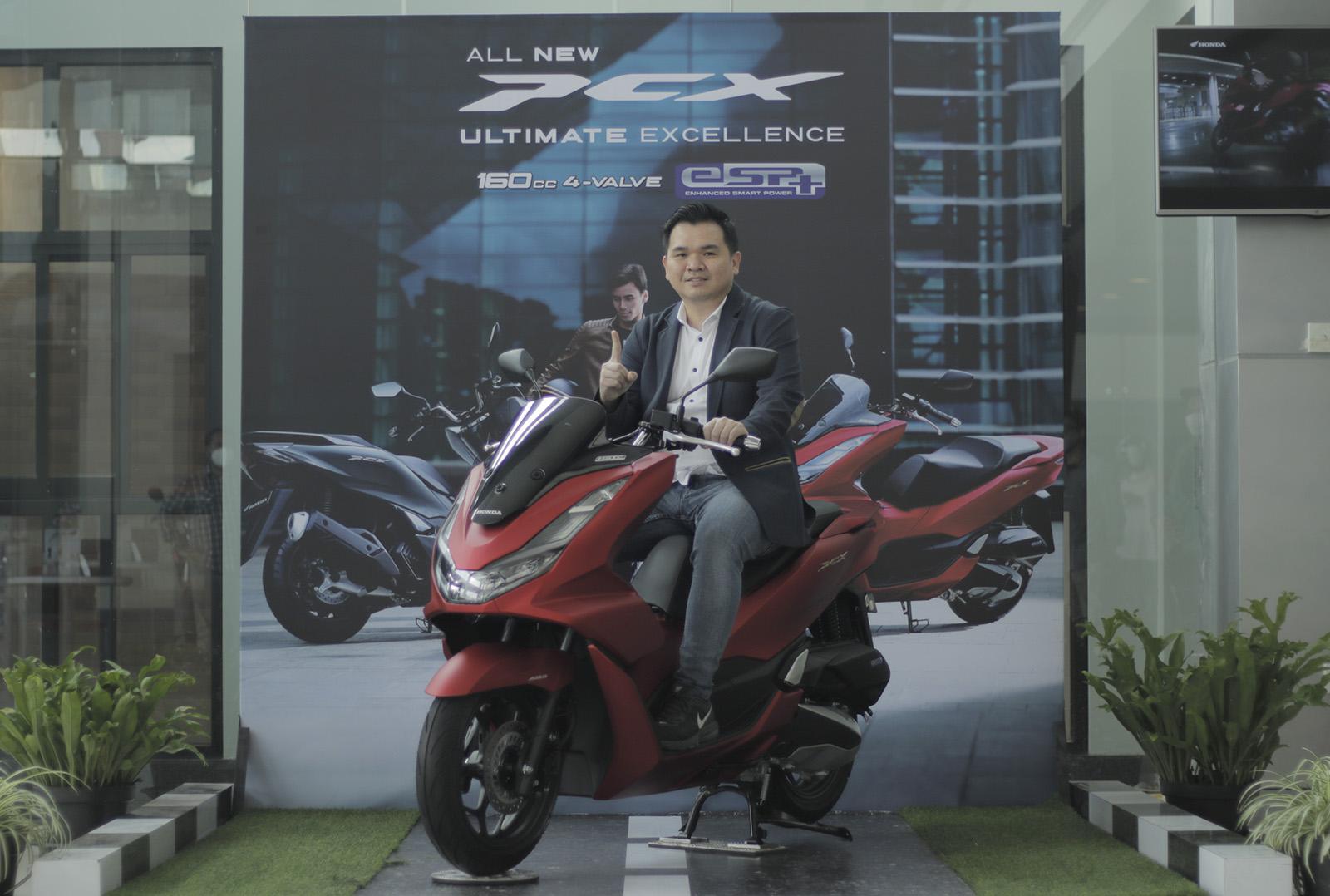 DAM Luncurkan All New Honda PCX dan All New Honda PCX e:HEV Untuk Pasar Jawa Barat