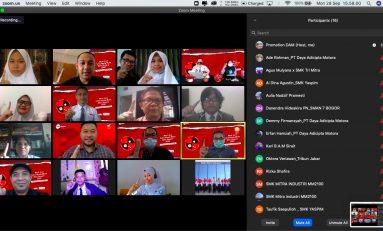 Dua Pelajar Terbaik Jawa Barat Wakili DAM di AHM Best Student (AHMBS) 2020