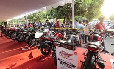 Ratusan Modifikator Jawa Barat Ikuti Honda Modif Contest (HMC) Cirebon