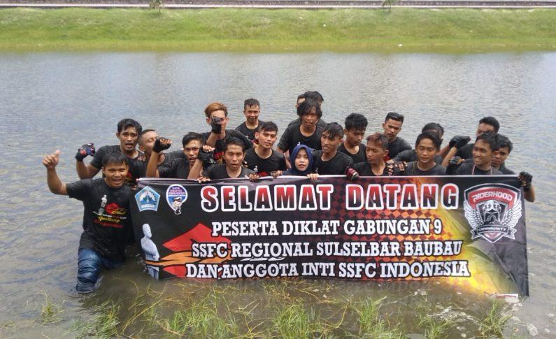 SSFC Bantaeng Sukseskan Diklat Gabungan 9 SSFC Region Sulselbar - Baubau